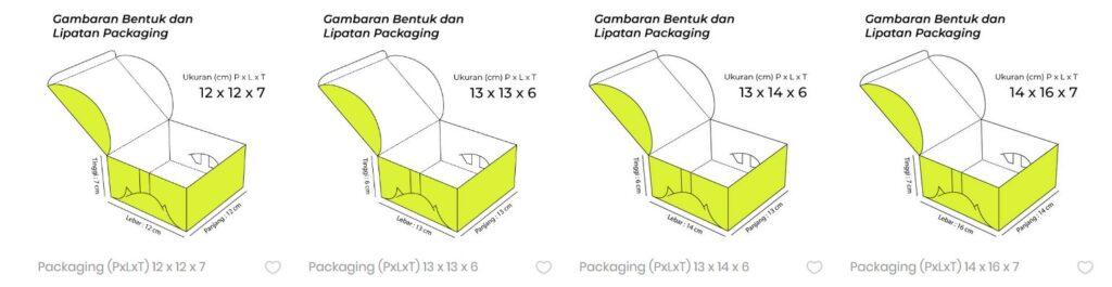 Pembuatan Packaging Box murah di jakarta